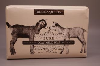 Beekman 1802 Pure Goat Milk Soap Fragrance Free 9.0 oz Bar
