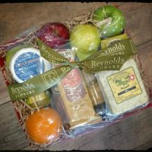 Cheese, Fruit & Cheer Gift Tray