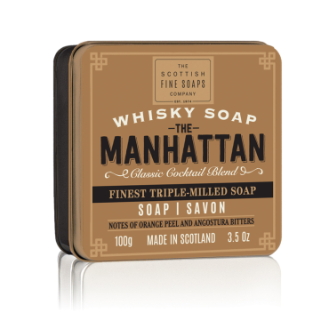 The Manhattan Soap in Tin 100g