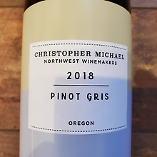 Christopher Michael - Pinot Gris 2018