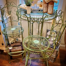 French Garden Patio Bistro Set