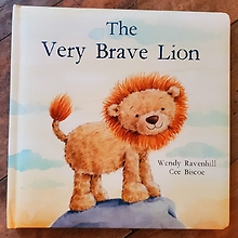The Very Brave Lion, Jellycat Book