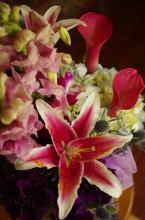 Reynolds Designed Bouquet in Spring-tones