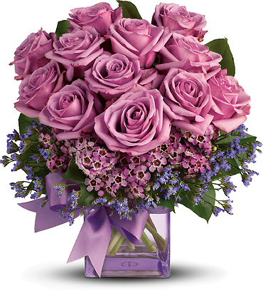 Morning Melody with Lavender Roses