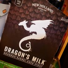 Dragon\'s Milk, Stout, New Holland, MI