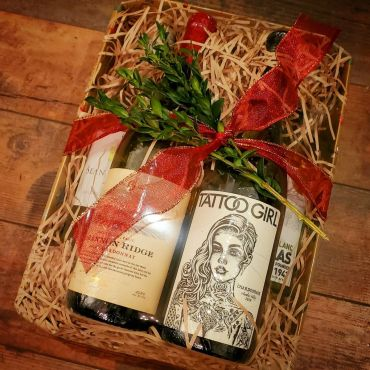 Five White Wine Gift Tray