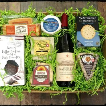 Wine & Cheese Gift Tray