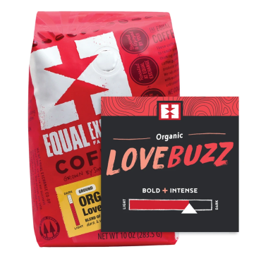COFFEE LOVER\'S ORGANIC 3 PACK GIFT TRAY - Love Buzz