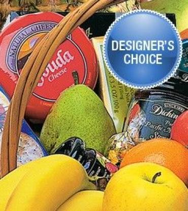 DESIGNER\'S CHOICE FRUIT BASKET