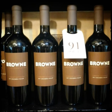 Browne Family Vineyards, Cabernet Sauvignon, Case of 12