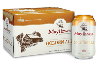 MAYFLOWER BREWERY Golden Ale