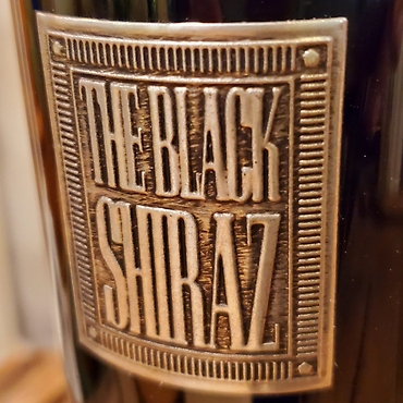 The Black Shiraz (Metal) Berton Vineyard, Australia