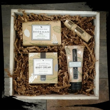Beekman Sweet Grass Goat Milk Gift Set