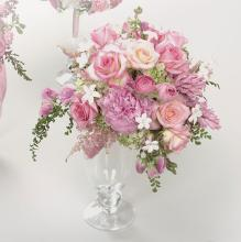 Pink Rose, Stephanotis and Hyacinth Bouquet