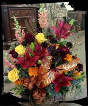 Autumn Sympathy Basket