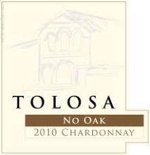 Tolosa Winery No Oak Chardonnay 2015