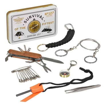 Survival Kit from Gentlemen\'s Hardware, Wild and Wolf