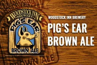 Woodstock Inn Brewery Pig\'s Ear Brown Ale