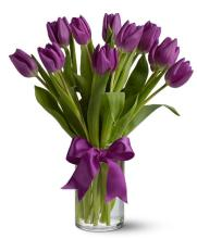 Purple Tulip Bouquet
