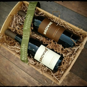 Browne Vineyards Red & White Gift Basket