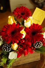Gerbera Christmas Box