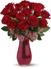 Teleflora\'s Red Rose Passion Bouquet