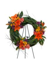 Autumn Exotica Wreath