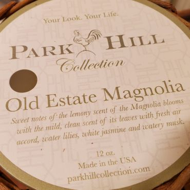 Park Hill Collection, Old Estate Magnolia Willow Candle