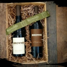 Red & White and Browne All Over, Gift Basket