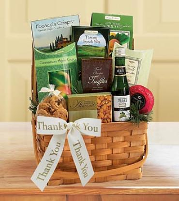 Thank You Gourmet Delights Basket