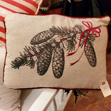 Christmas Cones Pillow