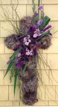 Natural Cross with purple tones