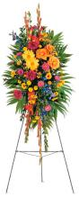 Celebration of Life - Sympathy Standing Spray