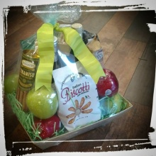 Snack Treats and Fruit Basket