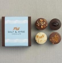 Harbor Sweets Salt & Ayre Truffle Asst - 4 pc