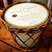 Park Hill Collection, Sweet Tea Willow Candle